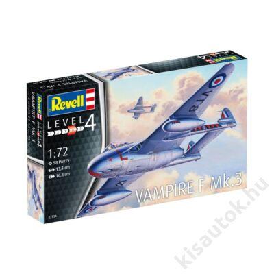 Revell 1:72 Vampire F Mk.3