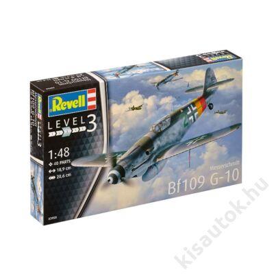 Revell 1:48 Messerschmitt Bf109 G-10 repülő makett