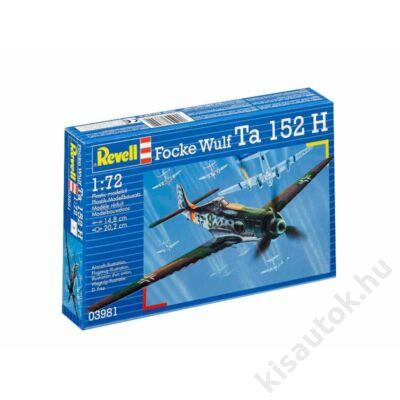 Revell 1:72 Focke Wulf Ta 152 H