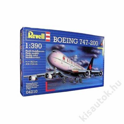 Revell 1:390 Boeing 747-200 repülő makett