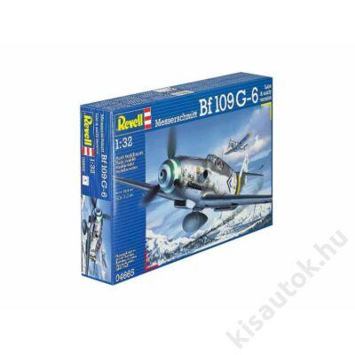 Revell 1:32 Messerschmitt Bf109 G-6 Late & early version repülő makett