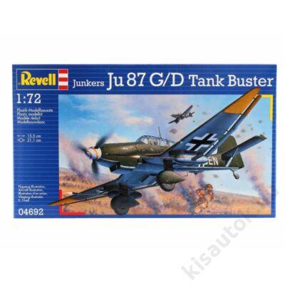 Revell 1:72 Junkers Ju 87 G/D Tank Buster repülő makett