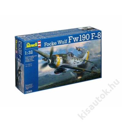 Revell 1:32 Focke Wulf Fw190 F-8 repülő makett