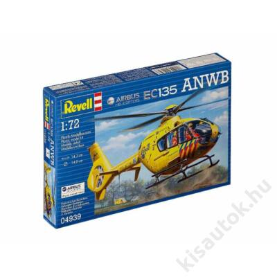 Revell 1:72 Airbus Helicopters EC135 ANWB helikopter makett