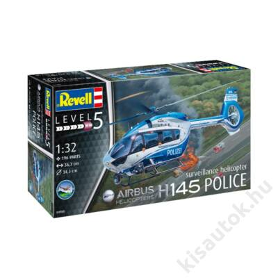 Revell 1:32 Airbus Helicopters H145 Police surveillance helicopter