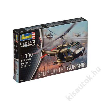 Revell 1:100 Bell UH-1H Gunship