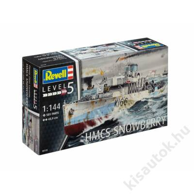 Revell 1:144 Flower Class Corvette HMCS Snowberry