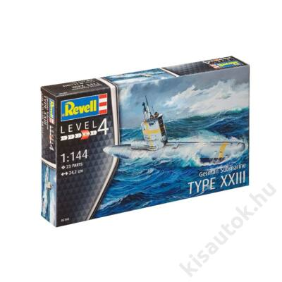 Revell 1:144 German Submarine Type XXIII