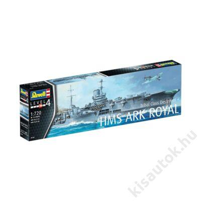 Revell 1:720 HMS Ark Royal + Tribal Class Destroyer F75 Eskimo hajó makett