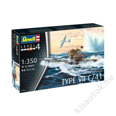 Revell 1:350 German Submarine Type VII C/41