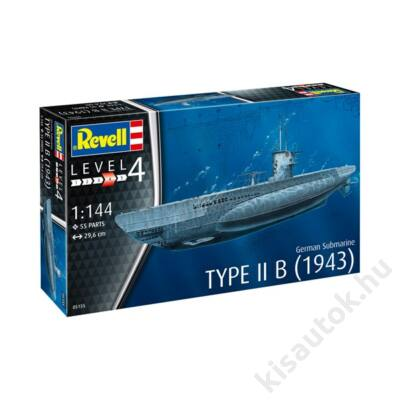 Revell 1:144 German Submarine Type II B (1943)