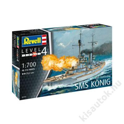 Revell 1:700 WWI Battleship SMS König