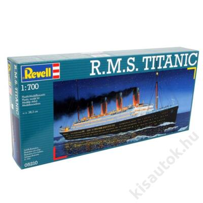 Revell 1:700 R.M.S. Titanic hajó makett