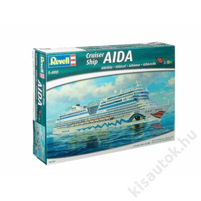 Revell 1:400 Cruiser Ship AIDA (AIDAblu, AIDAsol, AIDAmar, AIDAstella)