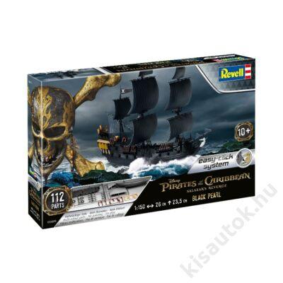 Revell 1:150 Black Pearl Pirates of the Caribbean Easy-Click hajó makett