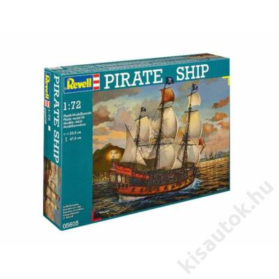 Revell 1:72 Pirate Ship