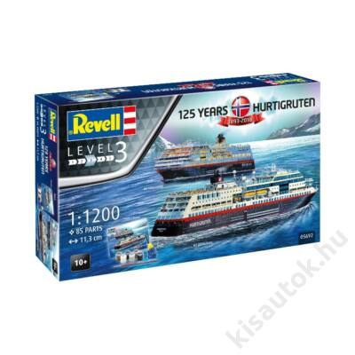 Revell 1:1200 Hurtigruten 125 Years Gift SET