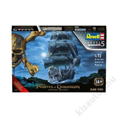 Revell 1:72 Black Pearl Pirates of the Caribbean Limited Edition hajó makett