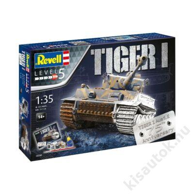 Revell 1:35 Tiger I Ausf. E 75th Anniversary Gift SET tank makett