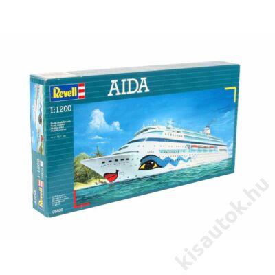 Revell 1:1200 AIDA hajó makett