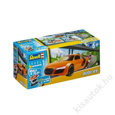 Revell Audi R8 Build and Play autó makett