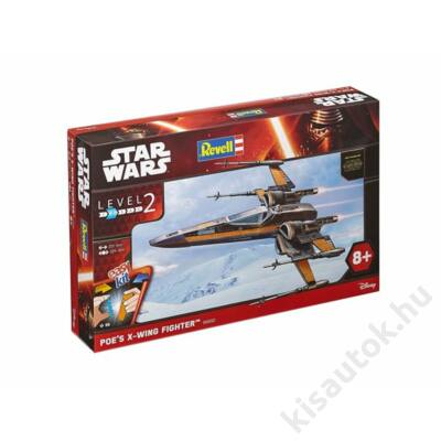 Revell 1:50 Star Wars Poe's X-Wing Fighter Easy Kit