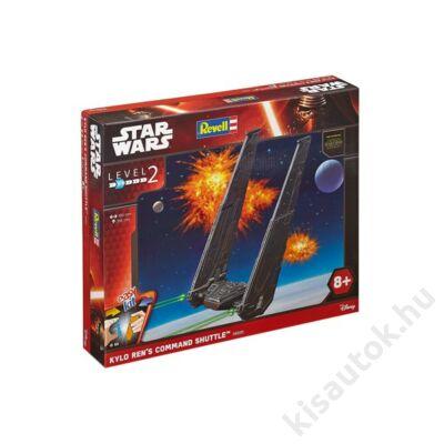 Revell 1:93 Kylo Ren's Command Shuttle Easy Kit Star Wars makett