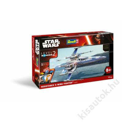 Revell 1:50 Star Wars Resistance X-Wing Fighter Easy Kit