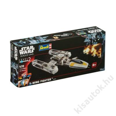 Revell 1:72 Star Wars Y-Wing Fighter Easy Kit