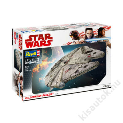 Revell 1:72 Millenium Falcon Star Wars makett