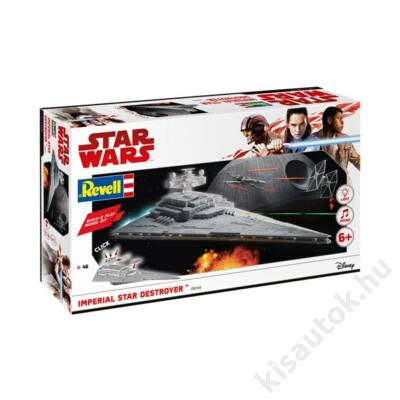 Revell 1:4000 Imperial Star Destroyer Build and Play Star Wars makett