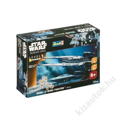 Revell 1:100 Star Wars Rebel U-Wing Fighter Build and Play