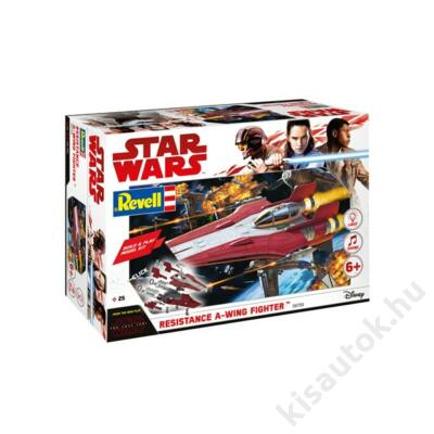 Revell 1:44 Star Wars Resistance A-Wing Fighter Build and Play