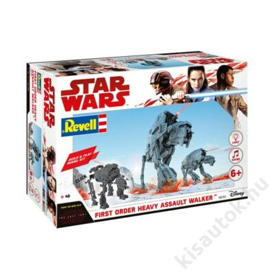 Revell 1:164 Star Wars First Order Heavy Assault Walker Build and Play