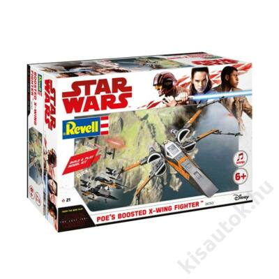 Revell 1:78 Star Wars Boosted X-Wing Fighter Build and Play