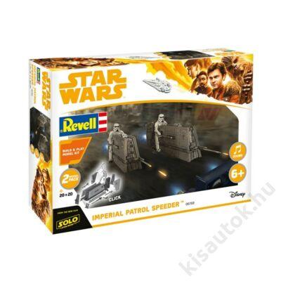 Revell 1:28 2db! Imperial Patrol Speeder Build and Play Star Wars makett