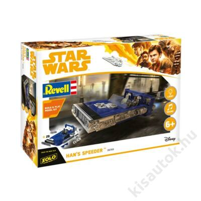Revell 1:28 Star Wars Han's Speeder Build and Play