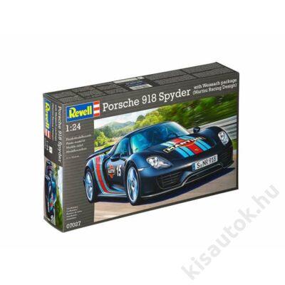 Revell 1:24 Porsche 918 Spyder with Weissach package (Martini Racing Design)