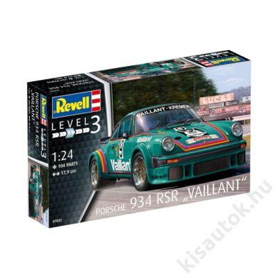 "Revell 1:24 Porsche 934 RSR ""Vaillant"""