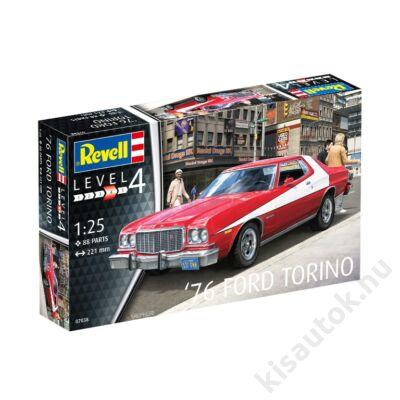 Revell 1:25 '76 Ford Torino autó makett