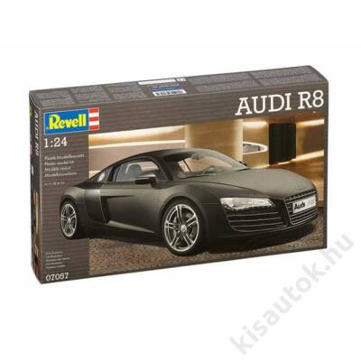 Revell 1:24 Audi R8 Black autó makett
