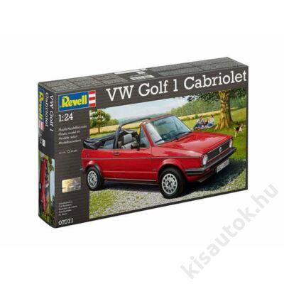 Revell 1:24 VW Golf 1 Cabriolet