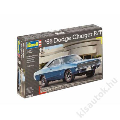 Revell 1:25 '68 Dodge Charger R/T autó makett