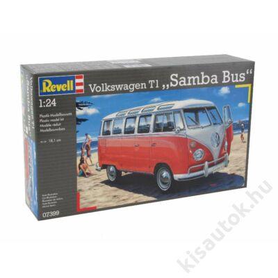 Revell 1:24 Volkswagen T1 Samba Bus autó makett