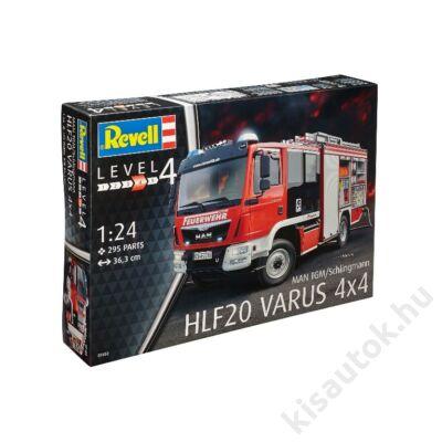 Revell 1:24 MAN TGM/Schlingmann HLF20 Varus 4x4 tűzoltó makett