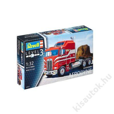 Revell 1:32 Kenworth Aerodyne kamion makett