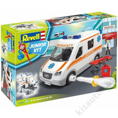 Revell 1:20 Mentőautó JUNIOR KIT