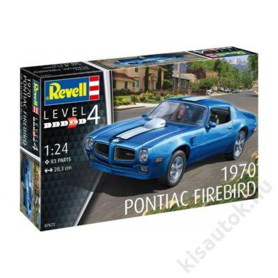 Revell 1:24 1970 Pontiac Firebird autó makett