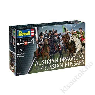 Revell 1:72 Austrian Dragoons + Prussian Hussars Seven Years' War