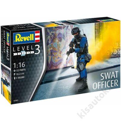 Revell 1:16 SWAT Officer figurás makett